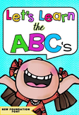 Let's Learn The ABC's BUNDLE in NSW Foundation Font