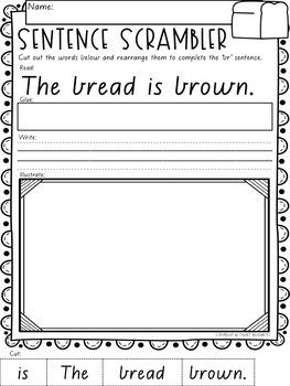 Let's Learn The Blend Mega Bundle in Victorian Modern Cursive Font Edition
