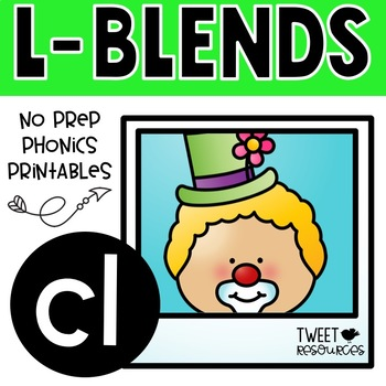 """Let's Learn The Blend """"cl"""" NSW Font Edition"""