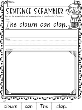 """Let's Learn The Blend """"cl"""" Victorian Modern Cursive Font Edition"""
