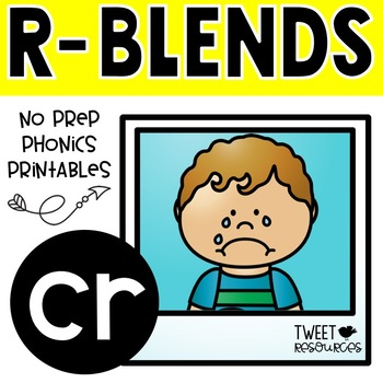 "Let's Learn The Blend ""cr"" NSW Font Edition"