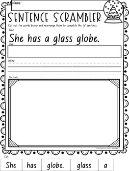 """Let's Learn The Blend """"gl"""" NSW Font Edition"""