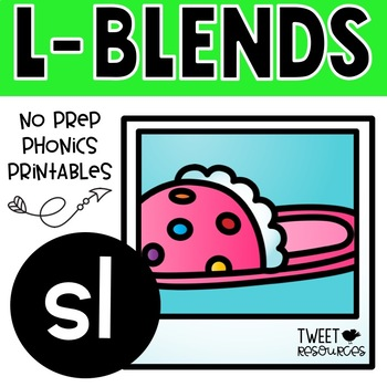 """Let's Learn The Blend """"sl"""" NSW Font Edition"""