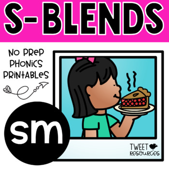 """Let's Learn The Blend """"sm"""" NSW Font Edition"""