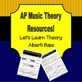 Let's Learn Theory - Alberti Bass
