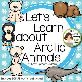 Arctic Animals Reader Plus Kwl Charts Venn Diagrams Worksheet Tpt