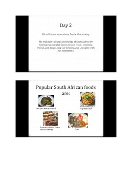 Let's Learn about South Africa! PowerPoint Slide Show