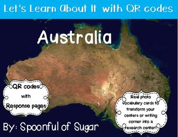Let's Learn about it with QR Codes! Australia and Australian Animals
