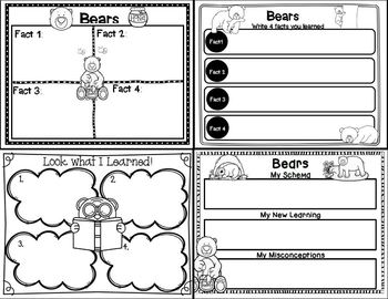 Let's Learn about it with QR Codes! Bears
