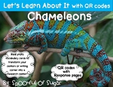 Let's Learn about it with QR Codes! Chameleons