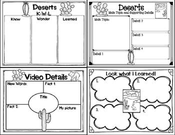 Let's Learn about it with QR Codes! Deserts