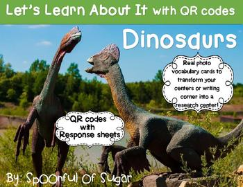 Let's Learn about it with QR Codes! Dinosaurs