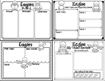 Let's Learn about it with QR Codes! Eagles