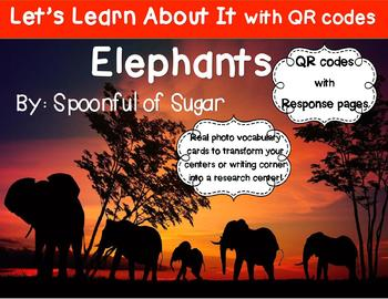 Let's Learn about it with QR Codes! Elephants