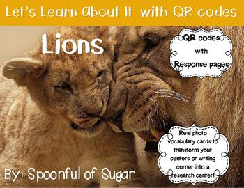 Let's Learn about it with QR Codes! Lions