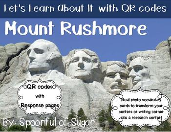 Let's Learn about it with QR Codes! Mount Rushmore