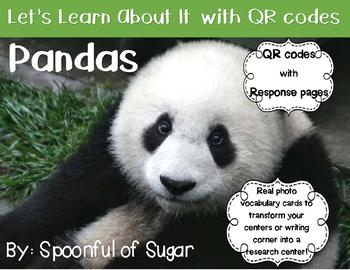 Let's Learn about it with QR Codes! Pandas