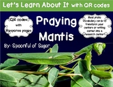 Let's Learn about it with QR Codes! Praying Mantis