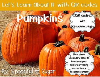 Let's Learn about it with QR Codes! Pumpkins