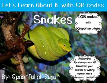 Let's Learn about it with QR Codes! Snakes