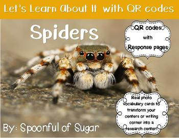 Let's Learn about it with QR Codes! Spiders