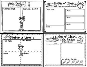 Let's Learn about it with QR Codes! Statue of Liberty