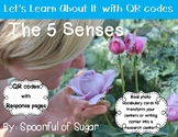 Let's Learn about it with QR Codes! The 5 Senses