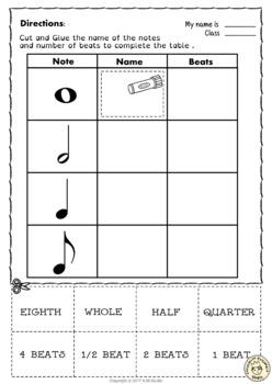 Let`s Learn the Music Symbols {No Prep Printables Bundle}