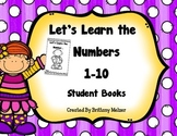 Let's Learn the Numbers 1-10 Student Books