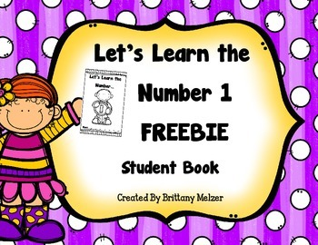Let's Learn the Number 1 FREEBIE