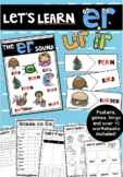 Let's Learn er -  Er, Ir, Ur Phonics Bundle!