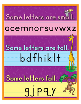 """Let's Look At Our Letters- 8½"""" x 11"""""""