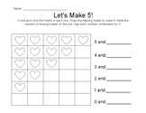 Let's Make 5 Hearts