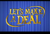 Let's Make A Deal- Game Show Template