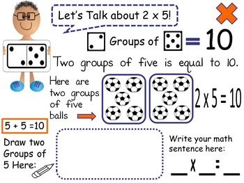 Let's Make A  Fun Story Book About Multiplication!