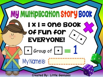 Multiplication Make It and Read it Storybook