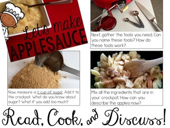 Let's Make Applesauce! Read, Cook, & Discuss (Cooking In the Classroom)
