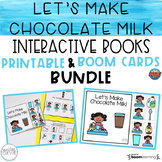 Let's Make Chocolate Milk Interactive Books BUNDLE (Printa
