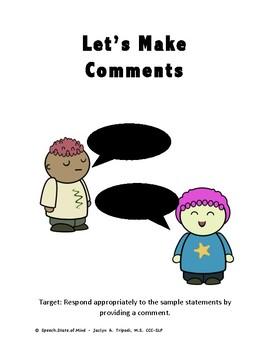 Let's Make Comments