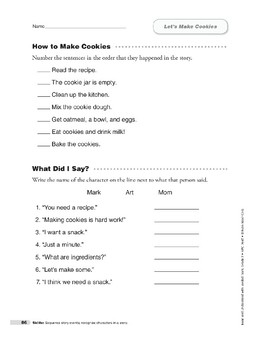 Let's Make Cookies (Lexile 460)