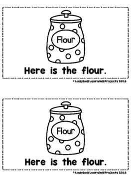 Let's Make Cookies for Santa --A Sight Word Emergent Reader and Teacher Lap Book