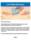 Let's Make Inferences- Partly Cloudy Pixar