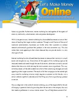 Let's Make Money Online