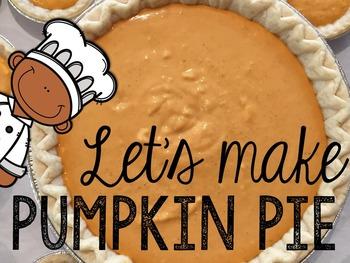 Let's Make Pumpkin Pie! Read, Cook, & Discuss (Cooking In
