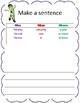 Let's Make Sentences!
