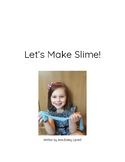 Let's Make Slime! Guided Reading Book DRA Level 3/4
