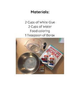 Let's Make Slime! Guided Reading Book DRA Level 3/4