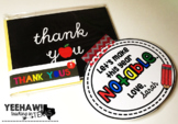 Let's Make This Year Notable Gift Tag Freebie