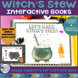 Witch's Stew: Interactive Language Books with Boom Cards™