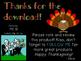 Let's Make Words - Thanksgiving {FREEBIE}